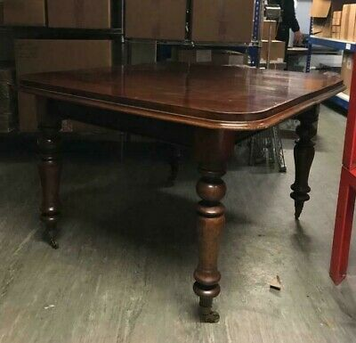 Dining Table  Victorian - Mahogany - with Extending leaf