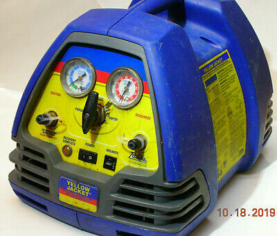 The Ritchie/Yellow Jacket 95760 Refrigerant Recovery Machine