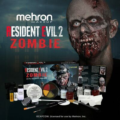 Resident Evil 2 Special FX Makeup kit by Mehron