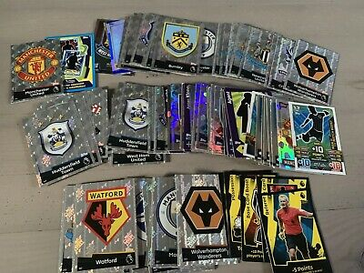 Match Attax Trading Card Game Tactic Cards And Club Badges Bundle Job Lot