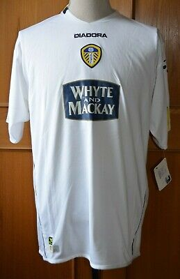Leeds United 2004/05 Home Shirt L With Tags Unworn