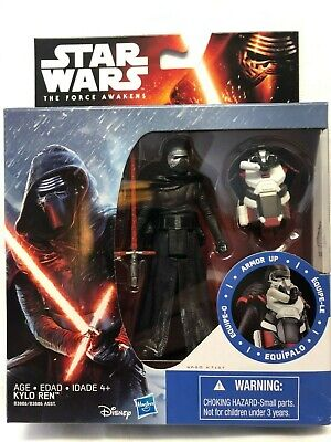 Star Wars The Force Awakens First Order KYLO REN Armor Up 3.75 Disney SEALED