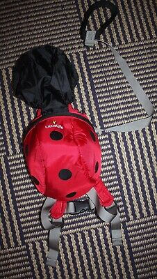 Little Life Ladybird Toddler Backpack in Excellent Condition - Used Twice