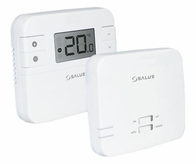 Salus RT310RF Wireless Radio Frequency Thermostat & Receiver Heating Control