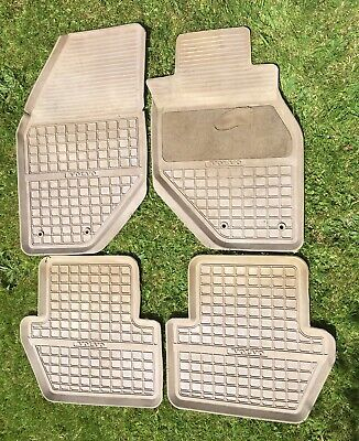 Volvo 850 Rubber Floor Mats Original & Genuine - also fit V70 Phase 1