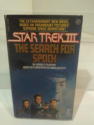 "Star Trek III ""The Search For Spock"" Paperback Book, 1984, by Vonda N. McIntyre"