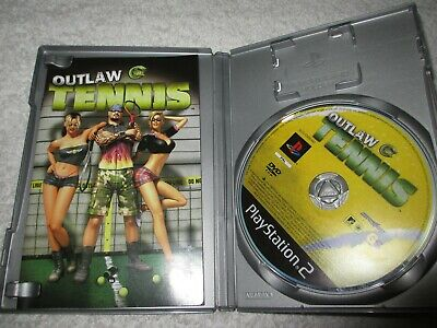 Playstation 2 Game Outlaw Tennis  J10