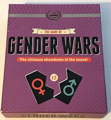 Marks & Spencer Gender Wars Card Game Brand New. Ideal gift Xmas party.