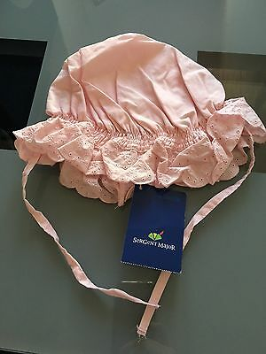 Chapeau Sergent Major Rose neuf - Taille 45