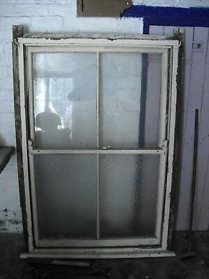 Original Victorian/ Edwardian Sash Window 123cm x 175cm Box, Sashes & Weights