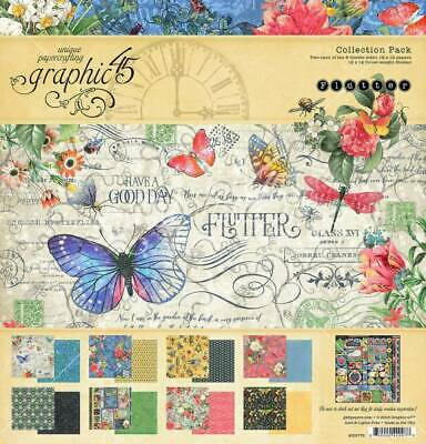"Graphic 45 Flutter 12 x 12"" Collection Pack"
