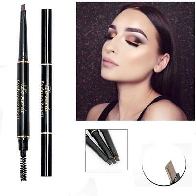Fashion Double-Ended Eyebrow Pencil with Mascara Natural Eye Brow Tint Cosmetics