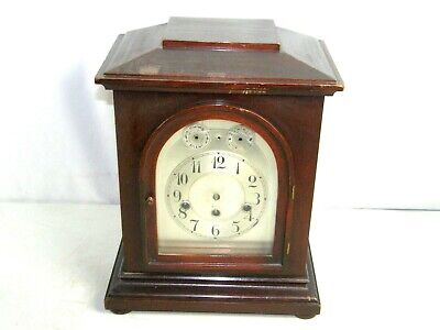 Antique German Junghans Large Clock B25 Westminster Chime For Restoration Only!