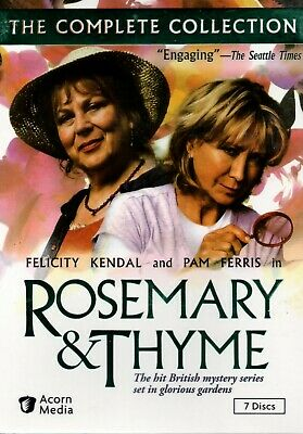 Rosemary And Thyme: The Complete Series  7 DVD  Box Set USA New Free Shipping