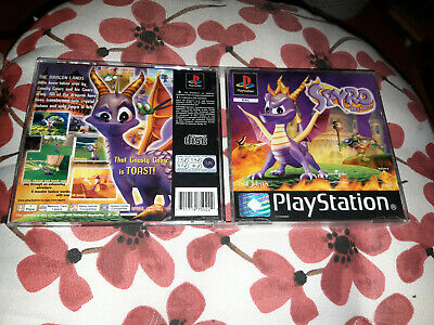 Spyro the Dragon (1998) Playstation original playstation ps1 free uk post