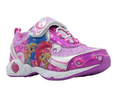 Shimmer and Shine Toddler Girls' Nickelodeon Light-up Sneakers Shoes:10-11