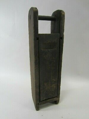 Antique Mining Dynamite Stick- Wooden Carrying Box-    PA#44