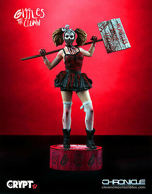 CHRONICLE COLLECTIBLES Giggles The Clown Figure Statue from Crypt TV - Brand New