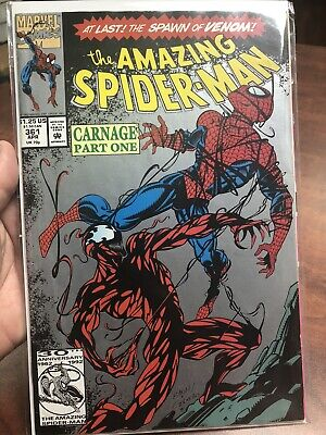 The Amazing Spider-Man #361 (Apr 1992, Marvel) 1st Carnage🔥 Top 100 Hot List