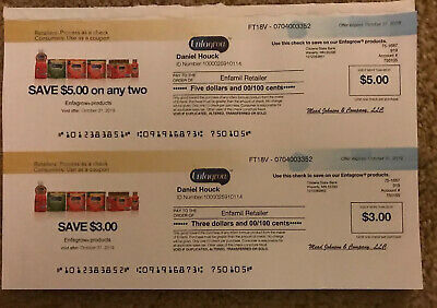 $71 Enfagrow Infant Toddler Formula Coupons 3 x $8, 7 x $5 & 4 x $3 Checks