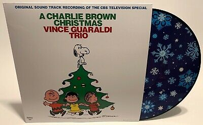 Vince Guaraldi Trio A Charlie Brown Christmas Exclusive Snowflake Vinyl Sealed!