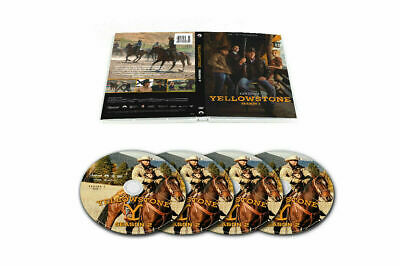 New Yellowstone The Complete 2th Season (DVD 4-Discs Set) Free shipping