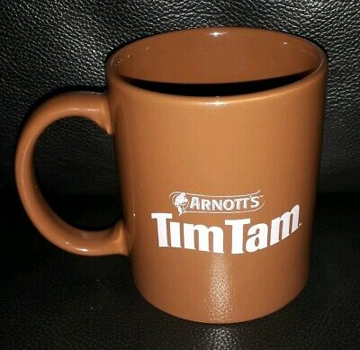 Rare Collectable Arnotts Tim Tam Coffee Mug In Good Used Condition