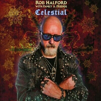 Rob Halford With Family and Friends - Celestial CD Sony Music Catalog NEW