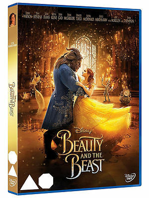 Beauty and The Beast (DVD, 2017) Walt Disney  Live Action Emma Watson