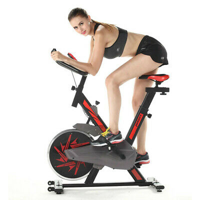 Pro Fitness Stationary Exercise Bike Cardio Indoor Cycling Bicycle Home & Health