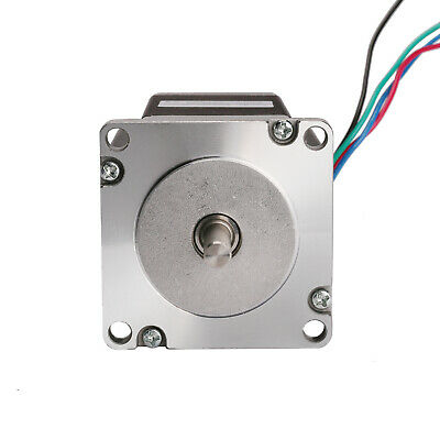 Stepper Motor NEMA23 270 oz-in 3.0A 23HS8430 57BYGH CNC Mill Cut LONGS MOTOR