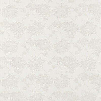 Laura Ashley Wallpaper White (1 Roll) * FREE DELIVERY *
