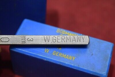 Vintage Bodmann 2173  3mm 1/8 Letter Punches German Made Old Tools