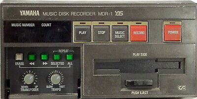 Yamaha Music Disk Recorder MDR-1 YIS without PSU