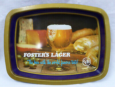 Vintage Fosters Larger Beer Tray - Rectangular