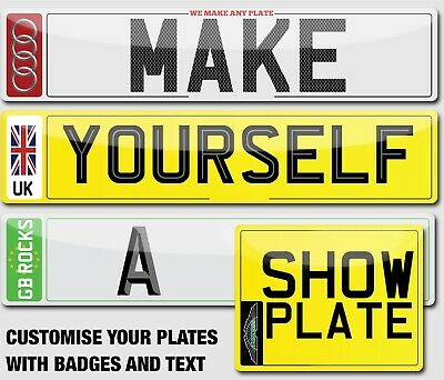 Pair Of Quality Show Number Plates