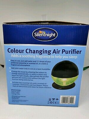 Silentnight Colour Changing Air Purifier 38120
