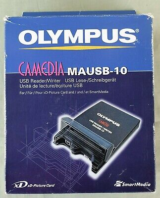 Olympus Camedia MAUSB-10 xD Picture Card USB Reader / Writer Boxed