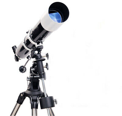 80EQ HD Zoom Monocul Refractive Astronomical Telescope View Landscape & Space#