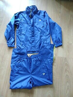 Waterproofs jacket and trousers set. Lined AGE 7-8 yrs Ex Condi