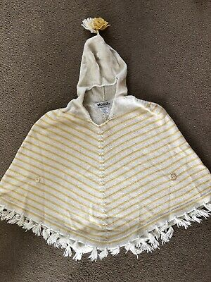 Waddler Alpaca Wool Cape 2-3 yellow