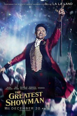 The Greatest Showman 3 Poster Movie Poster Canvas Picture Art