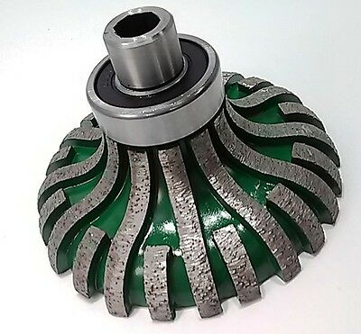 Diamond profile wheels segmented for shaping all natural stone - free shipping