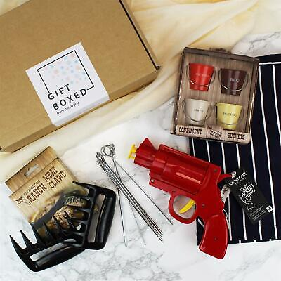 Gift Box - The one for the BBQ Master -Gift Set for Food Lovers
