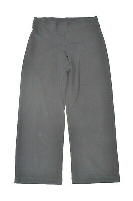 Pure Jill 1X Black Pull On Knit Stretch Casual Lounge Pants
