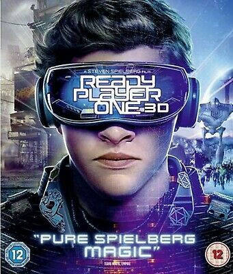 Ready Player One 3D Blu-ray (+Blu-ray + Digital Copy) ** New and Sealed **