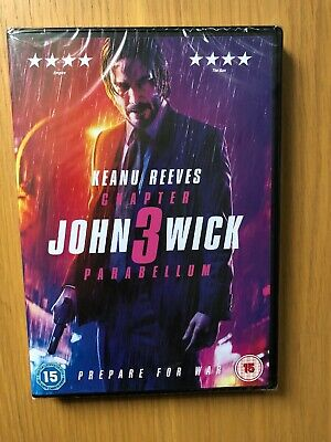john wick: chapter 3 - parabellum 2019 DVD New And Sealed