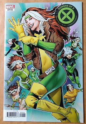 Powers of X #4 NM/NM+ Rogue Character Decades Variant X-Men Marvel Comics 2019