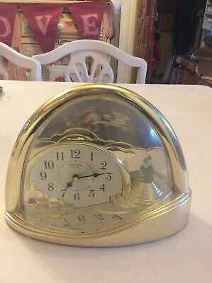 Vintage Clock By Rythm (Fairytale /Fantasy Style) Missing Battery Cover