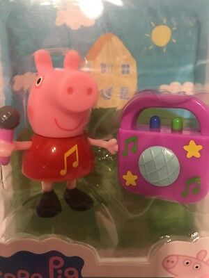 *BRAND NEW* PEPPA PIG/'S KARAOKE PARTY W// MICROPHONE /& ACCESSORY AGES 2+
